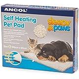 Ancol Coussin plat auto-chauffant pour chat/chien