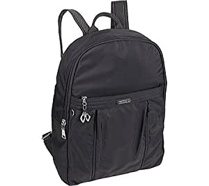 Traverler's Choice Beside-u Kaylin Backpack Handbag, Black