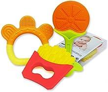 SMING Mordedor de bebe de Patatas fritas juguetes para morder aprobado por la FDA de silicona suave libre de BPA