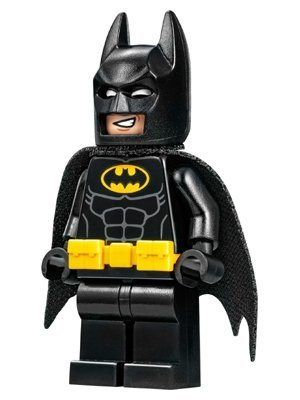 The LEGO Batman Movie MiniFigure - Batman w/ Utility Belt and Bat-a-Rang