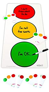 Inspirational Classrooms 3501709 - Póster Educativo con Texto Traffic Light and Pupil Fans