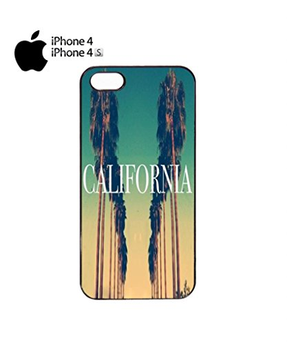 California City Vintage Retro Mobile Cell Phone Case Cover iPhone 5c Black Noir