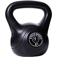 Gorilla Sports - Kettlebell plastica, 8 kg
