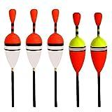 RUNGAO 15Pcs Assorted Course Carp Fishing Float Tackle Set & Rubbers Fishing Articles Buoy