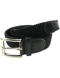 MYB Cintura elastica intrecciata per Uomo e Donna - diversi colori e dimensioni