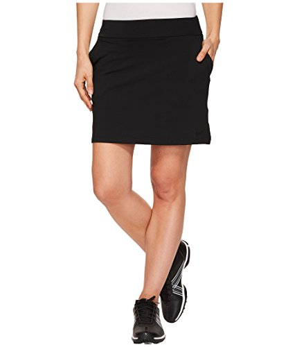 Nike Damen Dry 16.5 Zoll Rock, Black, S (Nike Spandex Für Frauen)