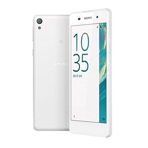 Sony Xperia E5 – Smartphone 5'', 1,5 Gb di Ram, fotocamera da 13 Mp, Android, colore: bianco