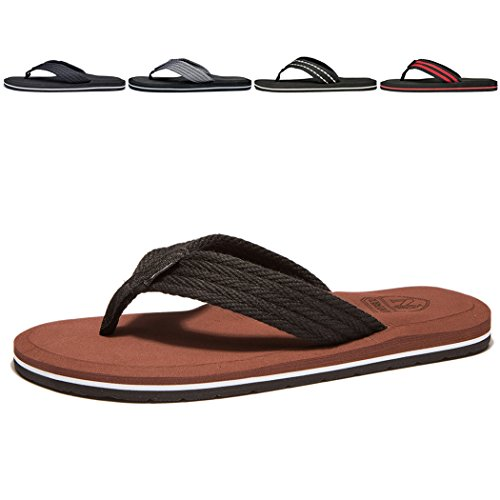 NewDenBer NDB Classic Plush Unisex-Erwachsene II Sandalen (50 EU, Braun) Schuh Größen