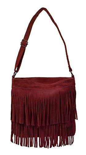Bags4Less Damen Tipsi Umhängetasche, 10x30x30 cm Rot