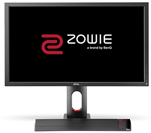 BenQ ZOWIE XL2720 27 Inch 144Hz e-Sports Gaming Monitor with 1ms, Height Adjustable Stand, S Switch, Black eQualizer, Dark Grey
