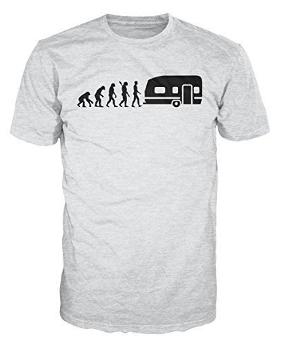 Caravan Evolution Funny RV Camping T-shirt [Choose Size & Colour]