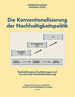 Die Konventionalisierung Der Nachhaltigkeitspolitik Beobachtungen