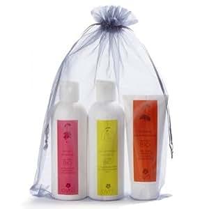 Vanity garni: Assortiment de soins corps et savons
