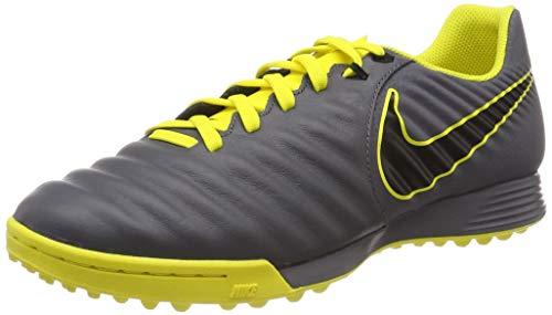 Nike Herren Men's Legendx 7 Academy (tf) Fußballschuhe, Grau (Dark Grey/Black/Opti Yellow 070), 42.5 EU (Schuhe Nike Futbol)