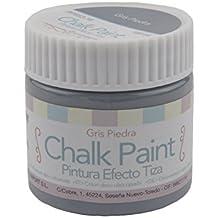Plascolor PP663-16 - Pintura efecto tiza, color gris piedra