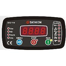 DATAKOM DKG-116 Generador manual y remoto Panel de control / Unidad / Controlador
