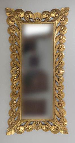Espejo Decorativo Madera Bolong Kadek 200x100 Oro