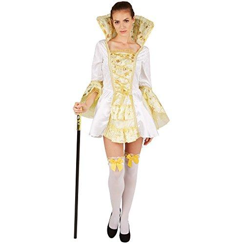 Dressforfun Disfraz Mujer Emperatriz | Vestido encantador