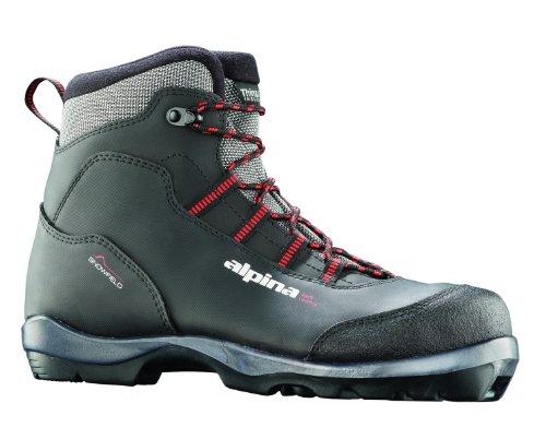 alpina Snowfield wartet Nordic Langlauf Ski Stiefel, für Verwendung mit nnn-bc Bindung, schwarz (Nnn Ski-bindungen)