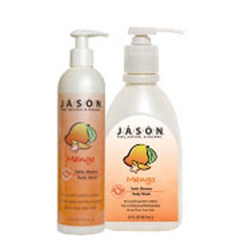 (10 PACK) - Jason Bodycare - Mango/Papaya Satin Body Wash | 900ml | 10 PACK BUNDLE by Jasons Natural