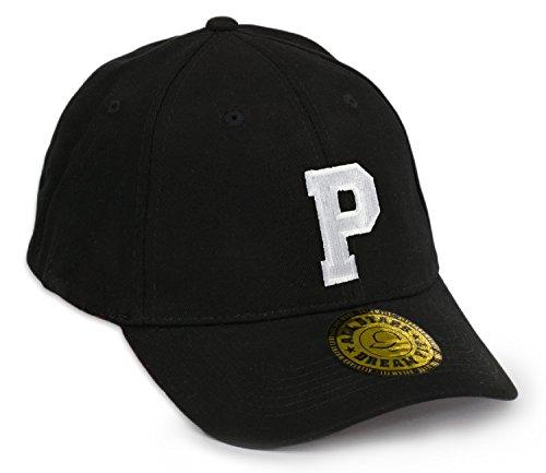 Unisex Snap Back Cap Flex fit Kappe Baseball Damen Herren HUT Mütze Caps Gothic 3D A-Z Snapback (L/XL, P)