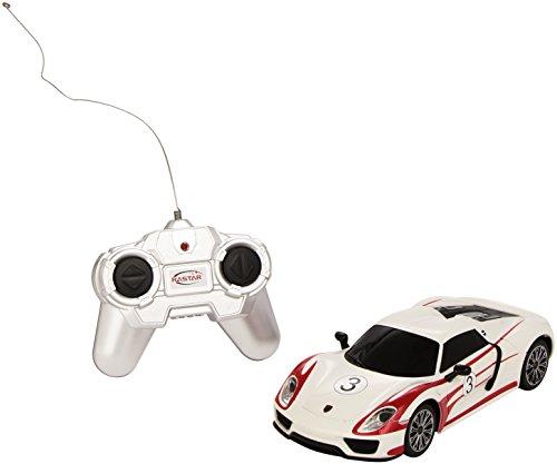 Mondo Motors 63304 - Modellino Auto Radiocomandato Porsche 918 Spyder Scala 1:24