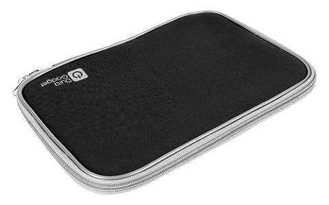 Schwarzes Neopren Etui für 17.5 Zoll Laptops mit Reißverschluss (HP Pavillion dv7-6141,g7-1004sa,HP pavilion dv7-6000sa,g7-1000sa,HP,HP Pavilion