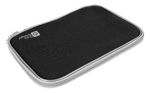 DURAGADGET Schwarzes Neopren Etui für HP Pavillion DV7 | Envy DV7| G7 | Pavilion 17 Notebook PC