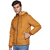 Cazibe Men's Jacket (5503BT-Mustard-M_Mustard_M)