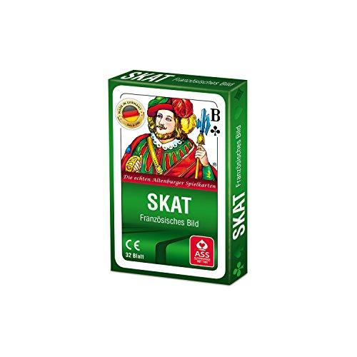ASS Altenburger 22570000 - Skat - Französisches Bild, Kartenspiel