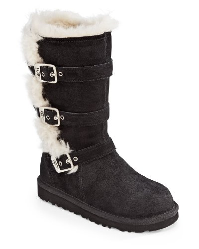 UGG Australia Infants' Maddi Shearling Boots,Black