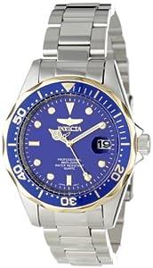 Invicta Men's 12809X Pro Diver Blue Dial Stainless Steel Watch de Invicta