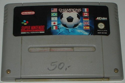 Champions World Class Soccer (SNES) lose
