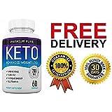 Premium Pure Keto Ketosis Diet Ketogenic Fat Burner (60 capsules) - 1 Month Supply