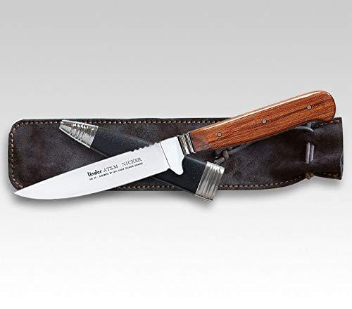 Linder ATS34 Jagdmesser Nicker Cherry