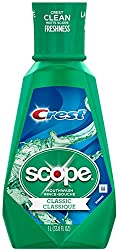 Crest Plus Scope Classic Mouthwash, Original Formula 33.80 oz