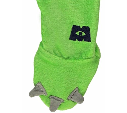 Image of Disney Pixar Monsters Inc Mike Wazowski Onesie Sleepsuit 9-12 Months with Hat Made by Disney Baby for George