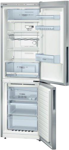 Bosch KGN36VL31 Serie 4 Kühl-Gefrier-Kombination / A++ / Kühlen: 233L / Gefrieren: 86L / Edelstahl / NoFrost / SuperGefrieren