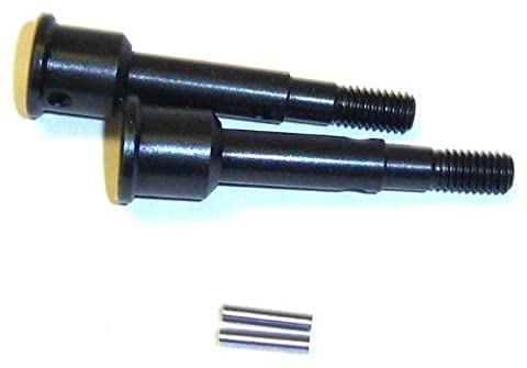 BS808-001 Drive Axle w/pin x 2 with pins Metal RC
