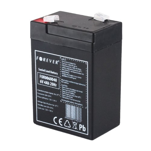 Original Powersonic - Bleiakku - Akku Powersonic PS 640 - Powersonic PS640 - Powersonic PS-640 - 6V 4,5Ah - Rechargeable Sealed Lead Acid (SLA) Battery - AGM / Blei Vlies - ORIGINALAKKU Powersonic !!! Sealed Lead Acid-agm