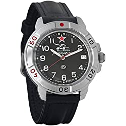 Vostok Komandirskie Russian Mens Military Mechanical Wrist watch #431306