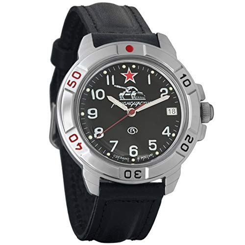 Vostok Komandirskie #431306 Commander 2414 - Reloj de Pulsera mecánico