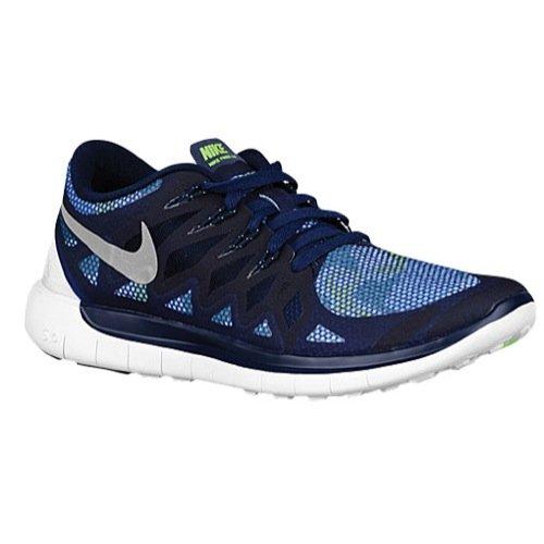 Nike Free TR 5, Schuhe Multisport Outdoor Damen, Obsidian Reflective Silver Flash Lime 400 - Größe: 37,5 EU (Obsidian-basketball-schuh)