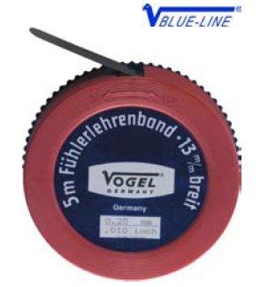 VOGEL 455001 - ROLLO FLEJE CALIBRADOR 5MX13MM ESPESOR 0 01