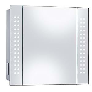 Mirror Cabinet 60 Led Light Illuminated Mirror Bathroom