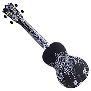 Classic Cantabile BeachBuddy Black Beauty, Ukulele soprano ABS
