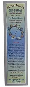 Marque-page zodiaque Astrologie d'anniversaire–Signe du zodiaque Star Sign: Gemini