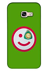 Clarks Printed Back Cover For Samsung A5 2017