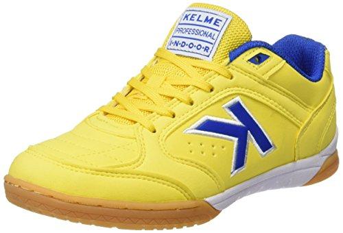 Kelme Precision, chaussures de football mixte adulte Jaune (Yellow)