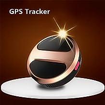 TKSTAR Mini Portátil GPS Tracker Resistente al Agua Smart Finder GPS Pet Tracker Personal Micro GPS Locator para Niños Mascotas Gatos Perros Vehículo Moto con Google Maps SOS Alarma TK08